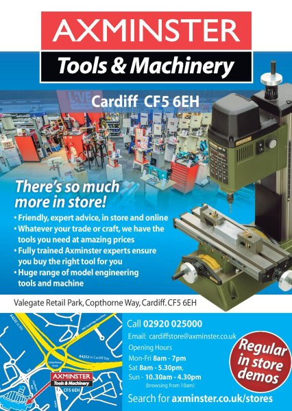Axminster Tools and Machinery - Cardiff